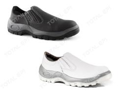 Sapato de elástico BOMPEL CA15294 (cor preta) ou CA 34217 (cor branca) com bico de pvc