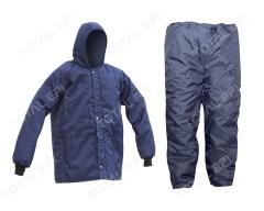 Blusão Japona de nylon CA18029 e Calça de nylon CA18030 câmara fria proteção contra baixas temperaturas