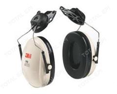 Protetor auditivo 3M concha H6P3E 16dB CA29706 haste de fixação móvel