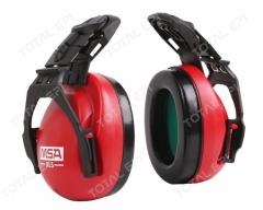 Protetor auditivo MSA concha HPE EXC XLS 20dB CA27971 haste de fixação móvel