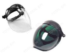 Protetor facial bolha Apolo CA12376 (incolor) ou CA 20573 (verde)