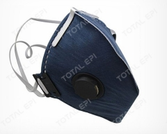 Máscara descartável carvão VO com válvula PFF2 CA38507